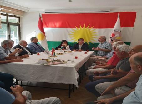 Nivîskarê Kurd Seîd Memûzînî li Amedê Seredana PAKê Kir