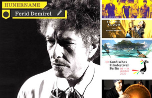 Sînema, şano, konser: Bob Dylan, Diljen Ronî, Sakîna, Şa Performans...