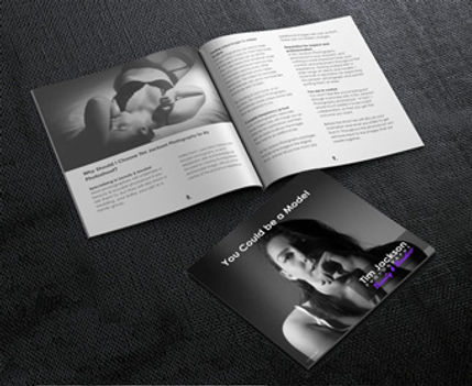 Our e-booklet You Coud Be A Model