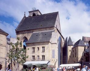 Eglise de Sarlat la Canéda, Dordogne.
