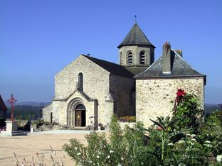 Eglise Saint Aignan   Ladignac le Long (87)