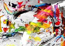 action Painting Originale Kunst, NFTs