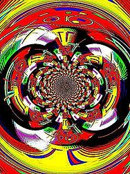 Bild Mandala von Karl-Peter Merz