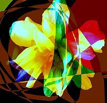Kunst florale abstraktionen