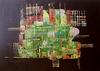 Platine abstrakte Kunst