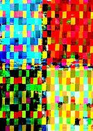 Abstrakte Kunst, digitale Kunst, Neue Gemaelde, NFTs