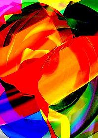 Gemaelde, abstrakte kunst, Digitale Kunst