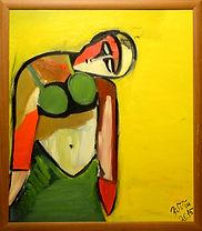 Ölgemälde auf Leinwand 80 x 70 cm  Galerierahmen Origianl von Emma  Tumanyan