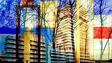 Gemälde Hannover, Fotomontage, digitale Kunst