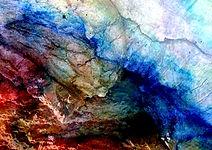 """Exponat """"NATURE"""" 2020 Abstrakte Kunst, Collage,"""