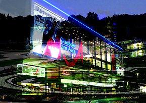Gemaelde Hannover, digitale kunstTheater am Aegi mit Herrenhausen zu verkaufen 01573 310 4203