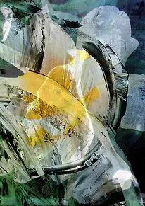 Abstrakte Blüten, Gemaelde, Neu, Orignal, Kunstgallerie