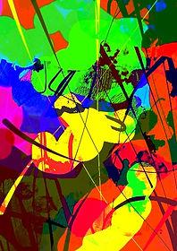 bstrakte Kunst, ditale Kunst, Kunstgalerie abstrakte Kunst