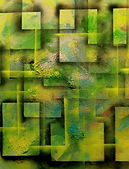 abstrakte Bild Mischtechnik