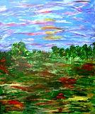 Gemälde modern Heide