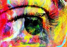 Bild Pop Auge aus der Reihe Mystery eyes