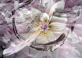 Blume, abstrakt 2021 Original, Kunstgallerie