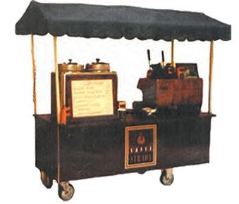 Caffe Strada Espresso Cart NYC