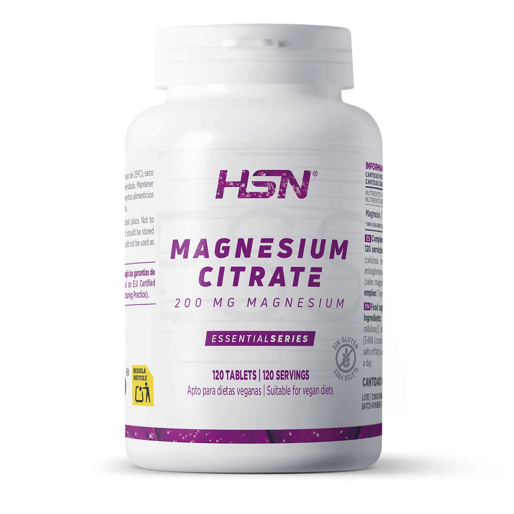 Magnésium citrate en capsules