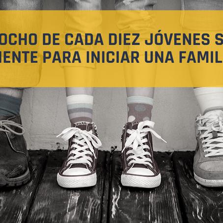 Comunicado 01/19: OCHO DE CADA DIEZ JÓVENES SIN INGRESO SUFICIENTE PARA INICIAR UNA FAMILIA