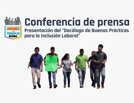 """Presentación del """"Decálogo de Buenas Prácticas para la Inclusión Laboral"""""""