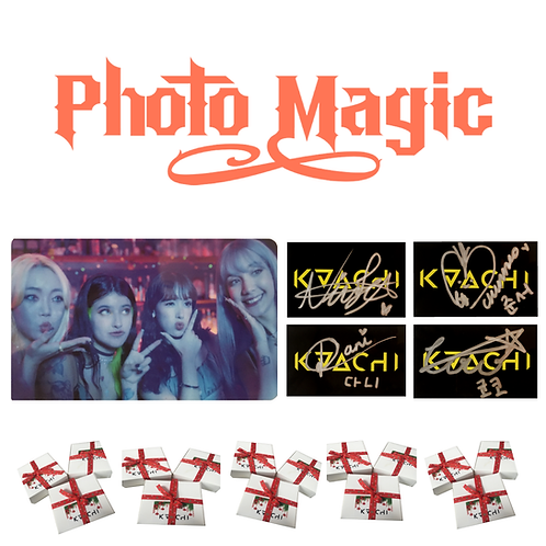 KAACHI Signed Photo Card (Limited Quantity)