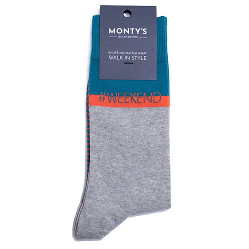 Be unique this weekend with these pair of trendy socks