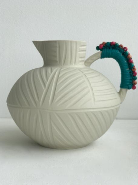 white round jug