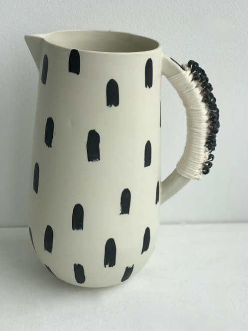 tall stripe jug