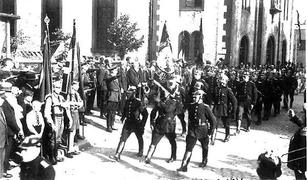 FF Stadtkyll 1936 - Kreisfeuerwehrtag