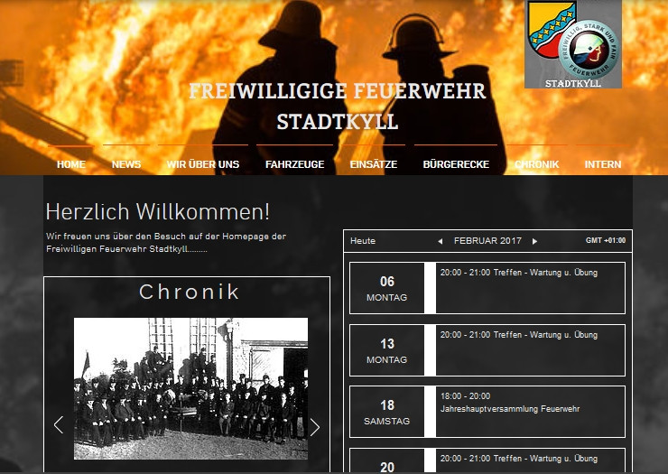 erste Bilder Internetseite...