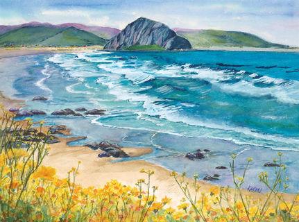 """#4 KAREN NEPHEW  """"Coastal Cascade"""""""