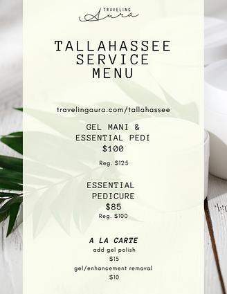 Tallahassee  price list