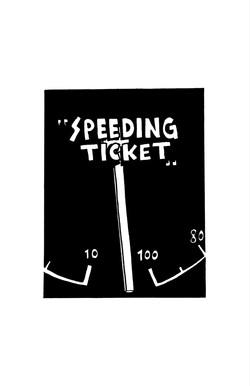 1. Speeding Ticket
