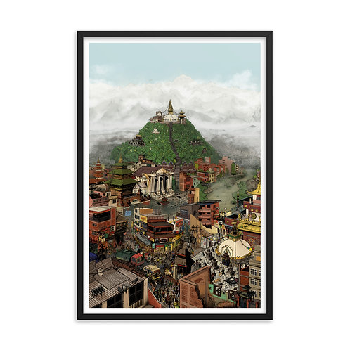 Kathmandu [framed]