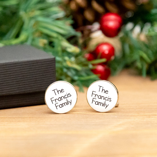 Personalised Cufflinks - Gifts For Him