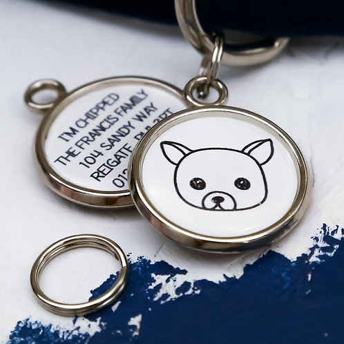 PAWESOME PET TAGS, DOG ID TAGS, CHIHUAHUA DOG TAG, PERSONALISED PET TAGS
