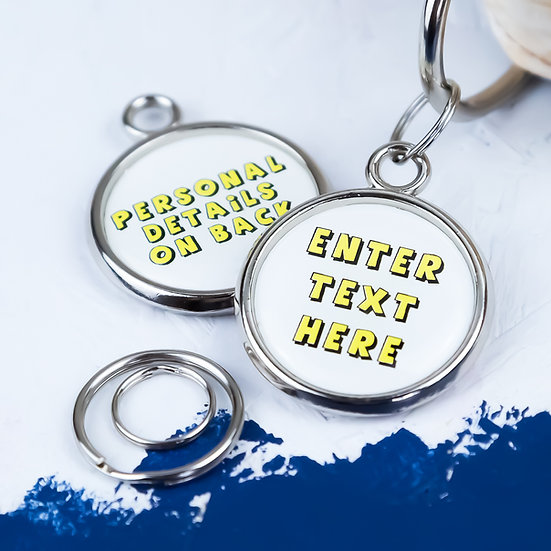 Create your own pet tag, pet tag UK, dog tag, dog tag UK, pawesome pet tags