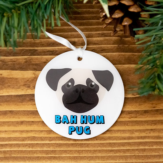 Pug Bauble - Pug Gifts