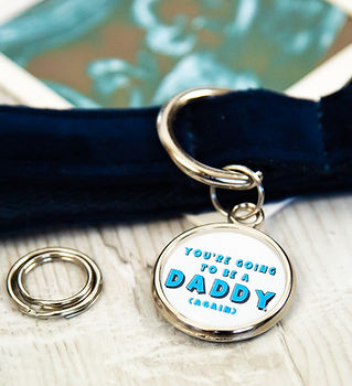 Pregnancy announcement ideas for dog owners by Pawesome Pet Tags