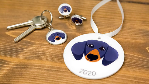 Sausage dog gifts by Pawesome Pet Tags