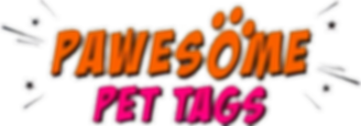 Pawesome Pet Tags Logo