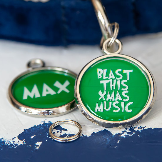 Christmas Dog Tag - Grinch Movie Quote