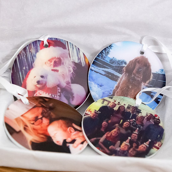 Photo Bauble 4 Pack