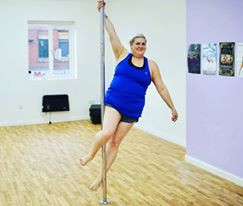 Plus size pole fitness Wigan