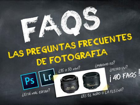 """FAQS de Fotografía. Lo mas preguntado en """"Nikonistas"""""""