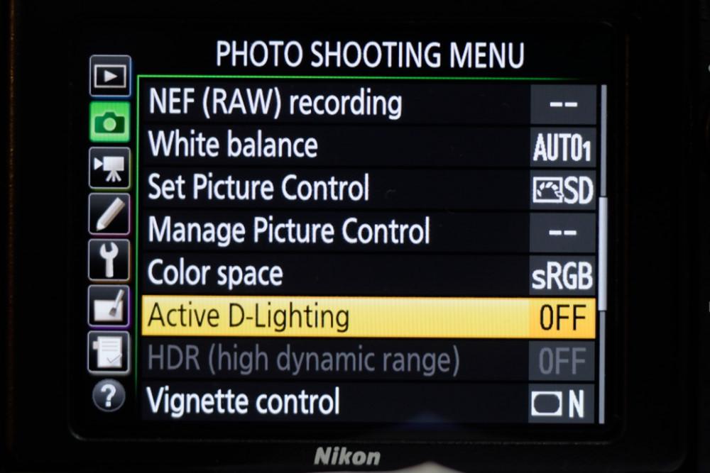 Active D-Lighting