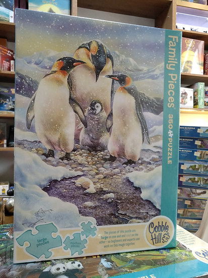 פאזל משפחתי 350 חלקים Penguin Family 54640