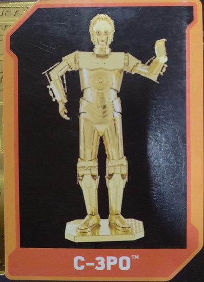C-3PO להרכבה צבע זהב