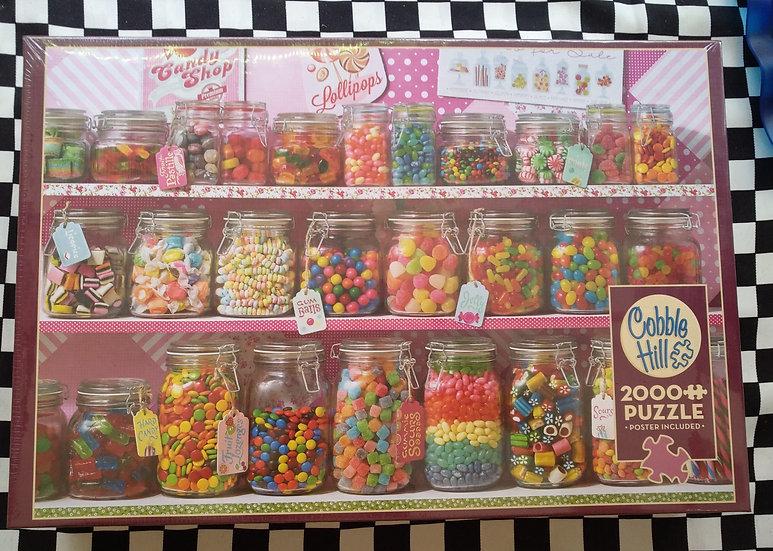 פאזל 2000 חלקים Candy Store